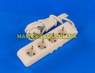 Фильтр сетевой (удлинитель) на 4 розетки 2м с заземлением Viko Multi-Let