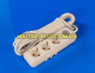 Фильтр сетевой (удлинитель) на 3 розетки 5м с заземлением и выключателем Viko Multi-Let