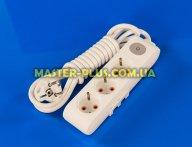 Фильтр сетевой (удлинитель) на 3 розетки 3м с заземлением и выключателем Viko Multi-Let