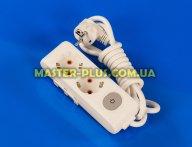 Фильтр сетевой (удлинитель) на 2 розетки 2м с заземлением и выключателем Viko Multi-Let