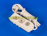 Фильтр сетевой (удлинитель) на 2 розетки 3м с заземлением и выключателем Viko Multi-Let