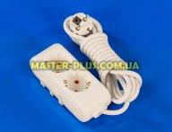 Фильтр сетевой (удлинитель) на 2 розетки 3м с заземлением Viko Multi-Let