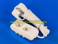Фильтр сетевой (удлинитель) на 2 розетки 5м с заземлением Viko Multi-Let