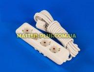 Фильтр сетевой (удлинитель) на 4 розетки 5м с заземлением Viko Multi-Let