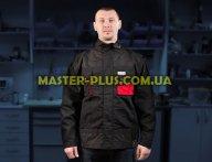 Куртка рабочая черно-красная (L) Yato YT-8022