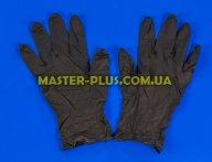 Перчатки нитриловые черные, размер М (пара)