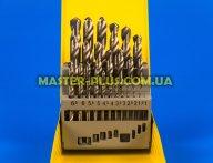 Набор сверл по металлу 1.0-13.0мм, 25шт Sigma 1211411