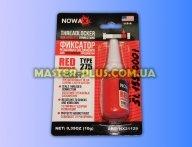 Червоний фіксатор різьби NOWAX Threadlocker для кріплення