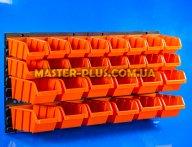 Стенд перфорированный (пластиковый) для инструмента NTBNP1 800*400мм с лотками 28шт