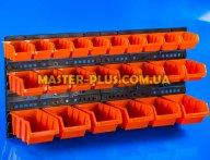 Стенд перфорированный (пластиковый) для инструмента NTBNP2 800*400мм с лотками 24шт