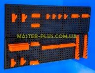 Стенд перфорированный (пластиковый) для инструмента NTB1 800*480мм с крючками
