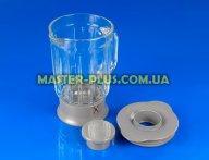 Чаша стеклянная 1200ml для кухонного комбайна Kenwood KW715833