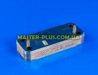 Теплообмінник ГВП (10 пластин) для котла газового Ferroli 39842130 для котла