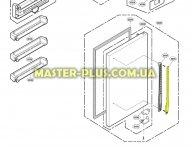Верхняя часть ручки холодильного отделения LG MEB36916402