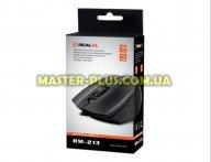 Мышка REAL-EL RM-213, USB, black для компьютера
