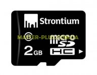 Карта памяти STRONTIUM Flash 2GB microSD class6 (SR2GTFC6A) для компьютера