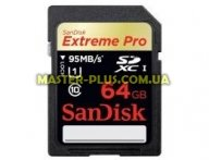 Карта памяти SANDISK 64Gb SDXC eXtremePro UHS-I (SDSDXPA-064G-X46)