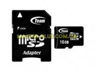 Карта памяти Team 16Gb microSDHC class 10 (TUSDH16GCL1003 / TG016G0MC28A)