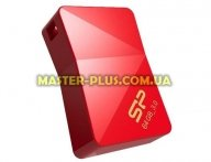 USB флеш накопитель Silicon Power 64Gb Jewel J08 Red USB 3.0 (SP064GBUF3J08V1R) для компьютера