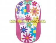 Мышка Trust Primo Wireless Mouse - pink flowers (21481)