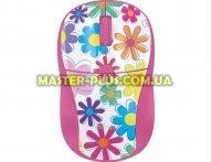Мышка Trust Primo Wireless Mouse - pink flowers (21481)