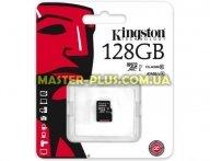 Карта памяти Kingston 128GB microSDXC Class 10 UHS  (SDC10G2/128GBSP) для компьютера