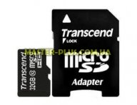 Карта памяти Transcend 32Gb microSDHC class 10 (TS32GUSDHC10)