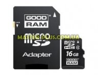 Карта памяти GOODRAM 16GB microSD class 4 (M40A-0160R11)