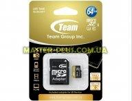 Карта памяти Team 64GB microSD class 10 UHS  U3 (TUSDX64GU303)