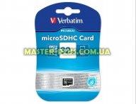 Карта памяти Verbatim 32GB microSDHC class 10 (44013)