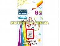 USB флеш накопитель GOODRAM 8GB PICCOLO WHITE USB 2.0 (UPI2-0080W0R11)