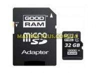 Карта памяти GOODRAM 32GB microSD Class 4 (M40A-0320R11) для компьютера