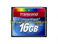 Карта памяти Transcend 16Gb Compact Flash 400x (TS16GCF400) для компьютера