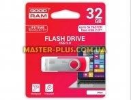 USB флеш накопитель GOODRAM 32GB UTS3 Twister Red USB 3.0 (UTS3-0320R0R11)