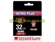 USB флеш накопитель STRONTIUM Flash 32GB NANO Red USB 3.0 (SR32GRDNANOZ)
