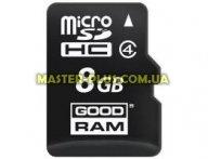 Карта памяти GOODRAM 8GB microSD Class 4 (M400-0080R11) для компьютера