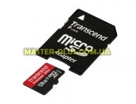 Карта памяти Transcend 128GB microSDXC class 10 UHS-I (TS128GUSDU1)