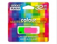 USB флеш накопитель GOODRAM 32GB COLOUR MIX USB 2.0 (UCO2-0320MXR11) для компьютера