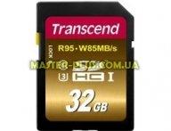 Карта памяти Transcend 32GB SDHC class 10 UHS-I U3 (TS32GSDU3X) для компьютера