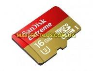 Карта памяти SANDISK 16GB microSDHC Class 10 UHS-I U3 (SDSQXNE-016G-GN6MA)