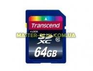 Карта памяти 64Gb SDXC class 10 Transcend (TS64GSDXC10) для компьютера