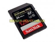 Карта памяти SANDISK 128GB SDXC Extreme Pro UHS-I U3 Class10 (SDSDXPA-128G-G46) для компьютера