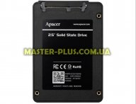 "Накопитель SSD 2.5"" 240GB Apacer (AP240GAS340G-1) для компьютера"