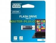 USB флеш накопитель GOODRAM 64GB UCU2 Cube Graphite USB 2.0 (UCU2-0640E0R11)