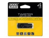 USB флеш накопитель GOODRAM 4GB TWISTER USB 2.0 (PD4GH2GRTSKKR9)