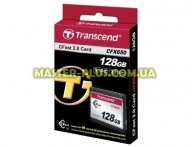Карта памяти Transcend 128GB Compact Flash 650X (TS128GCFX650) для компьютера