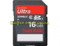 Карта памяти SANDISK 16Gb SDHC Ultra UHS-I Class 10 (SDSDU-016G-U46)
