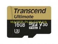 Карта памяти Transcend 16GB microSDHC class 10 UHS-I U3 MLC (TS16GUSDU3M)