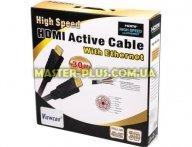 Кабель мультимедийный HDMI to HDMI 30.0m Viewcon (VD 575-30м.)