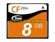 Карта памяти Team Compact Flash 8GB 233x (TCF8G23301) для компьютера